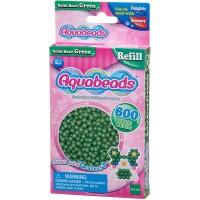 Mainan Edukasi Aquabeads Common Green Solid Bead