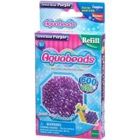 Mainan Edukasi Aquabeads common Purple Jewel Bead