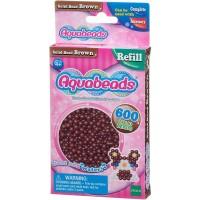 Mainan Edukasi Aquabeads Common Brown Solid Bead