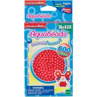 Mainan Edukasi Aquabeads Common Red Solid Bead