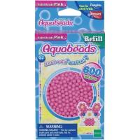 Mainan Edukasi Aquabeads Common Pink Solid Bead