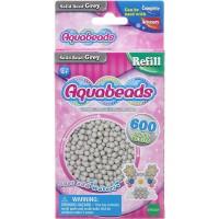 Mainan Edukasi Aquabeads Common Grey solid Beads