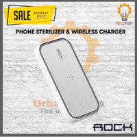 Rock Space UV Sterilizer Smartphone anti virus + Wireless Charger