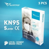 Masker KN95 Alcatroz Care Face Disposable 5 PLY Nano Protection - 1Box