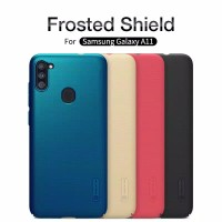 Samsung Galaxy A11 Hardcase Nilkin Frosted (Free Stand Hp)
