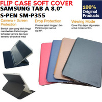 Samsung Galaxy Tab A8 A 8 Inch 8.0 P355 Softcase Soft Cover Flip Case