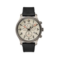 Allied LT Chronograph 42mm Leather Strap Watch MOVEMENT