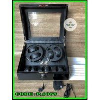 Kotak Box Jam Tangan Otomatis Autometic watch winder 224A isi 10