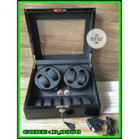 Watch Winder 10 Automatic Box Pemutar Jam Tangan Otomatis 224B Isi 10