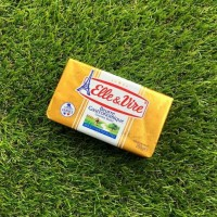 Butter Unsalted   Mentega Tawar   Elle & Vire 200gr