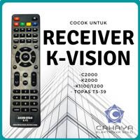 Remot Kvision Akko Star KVS Multi C2000 K2000 Parabola Receiver Remote