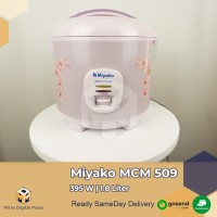 Miyako MCM 509 Rice Cooker Magic Com 3 in 1[ 1.8 Liter ]
