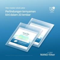 filter masker - nano filter masker isi 20pcs