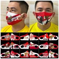 masker scuba dewasa proklamasi merah putih