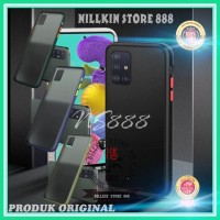 SAMSUNG GALAXY M21 M215 AERO CASE MATTE HARD ORIGINAL BENING COVER PC