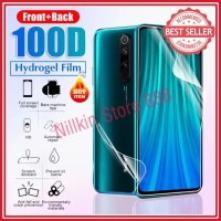 XIAOMI REDMI NOTE 8T FRONT+BACK ANTI GORES SCREEN GUARD HYDROGEL 2 IN1