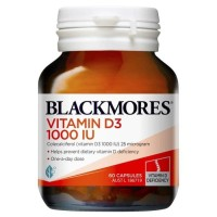 BLACKMORES Vitamin D3 1000 iu 1000iu d 3 60 caps 60 kapsul