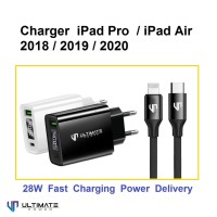 Charger iPad Air Pro 2019 2020 28W Ultimate TCL2QPD + CTL120