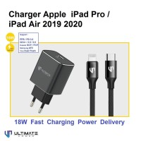 Charger Apple iPad Air Pro 2019 2020 18W Ultimate TC01PD-R + CTL120