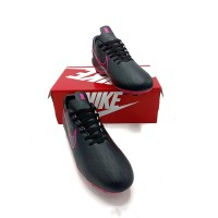 sepatu olahraga pria sepatu bola nike sepatu bola sepatu sepak bola - Hitam biru, 39