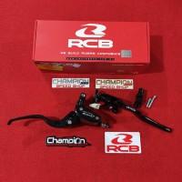 Master Rem Handle Rem E2 14mm Oval RCB Racing Boy Vario 125 150 Beat