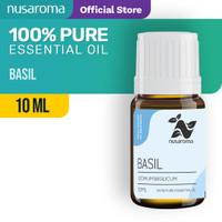 Basil Essential Oil ( Minyak Kemangi ) 10 ML | Pure 100% & Natural