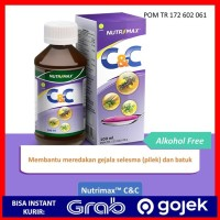 Obat Vitamin Radang Tenggorokan Nutrimax C&C Syrup