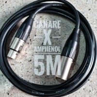 Custom Cable Kustom Canare x Amphenol XLR M to XLR Fm 5m ORIGINAL