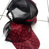 Topi Gucci Jaring Import