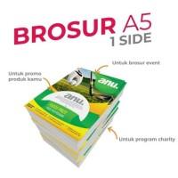 BROSUR A5 1 sisi AP 150gr / CETAK Flayer