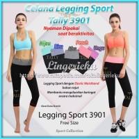 Celana Legging Wanita Untuk Senam Olahraga Aerobic Gym Tally 3901