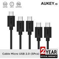 Aukey Cable Micro USB 2.0 (5Pcs) - 500256