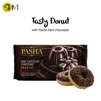 Coklat Blok Dyna Pasha Dark 250 gr - Coklat Batangan - Coklat Masak