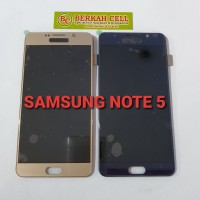 LCD TOUCHSCREEN SAMSUNG NOTE 5 ORIGENAL AAA BISA ATUR CONTRAS