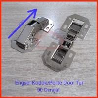Engsel Kodok / Engsel Sendok Tanpa Bobok 90 Derajat Pintu