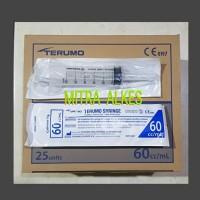 TERUMO 60cc Catheter Tip. Cateter r Tip 60ml Bolong Tengah 60 cc 60 ml