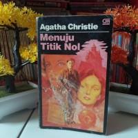 Novel Misteri Terjemahan Agatha Christie Menuju Titik Nol Towards Zero