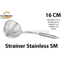 Saringan/Tirisan Mie Multifungsi Stainless 16 Cm - SM16