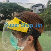 Topi Anti Virus Corona Helm Covid Pelindung Masker Wajah