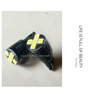 Lampu Senja Plat Nomor Mobil T10 LED 3030 Black Metal Case 12v 24v