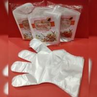 Sarung Tangan Plastik Kharisma isi 100 / Hand Gloves