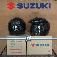 Helm SUZUKI Half Face / Suzuki Satria FU 150 - ORIGINAL - SUPER SALE