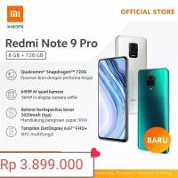 Redmi Note 9 Pro (8GB+128GB) GARANSI 1 TAHUN batam only