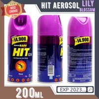 HIT AEROSOL 200ml LILY BLOSSOM Semprotan Obat nyamuk Hit 200 ml