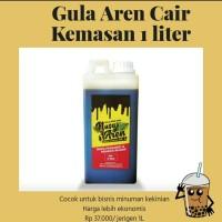 gula aren cair Nusa Aren 1 liter / brown sugar 1 liter / jerigen