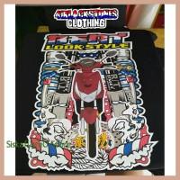 Sale Kaos Motor Honda Beat Look Style Racing Thailook Custom Distro