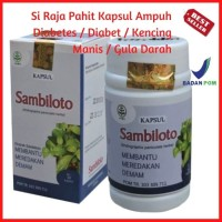 Kapsul Ekstrak Sambiloto Obat Kencing Manis Herbal Diabetes & Jantung