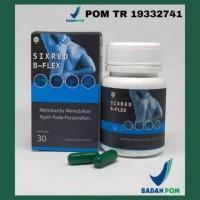 Sixred B Flex obat herbal tulang dan nyeri sendi pada tulang