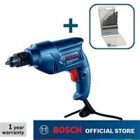 Bosch Bor Tangan Listrik dengan HSS-R Mata Bor Set (13pcs) GBM 350