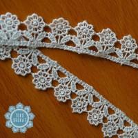 Kain Renda Bordir Giper - Bunga Kecil - 10495 (L :-/+ 2 cm)